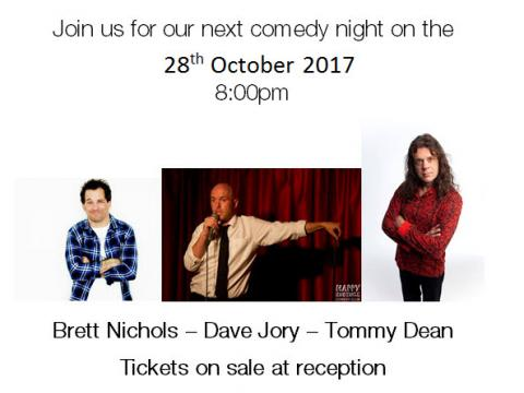 Comedy Night 28th October