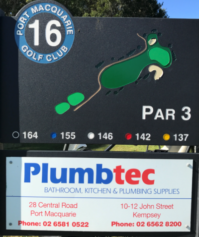 16th Tee Plumbtec Port Macquarie