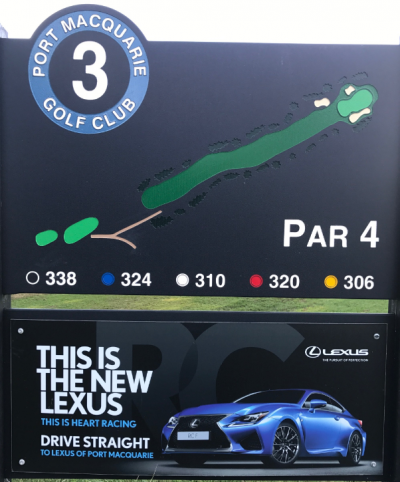 3rd Tee Lexus Port Macquarie