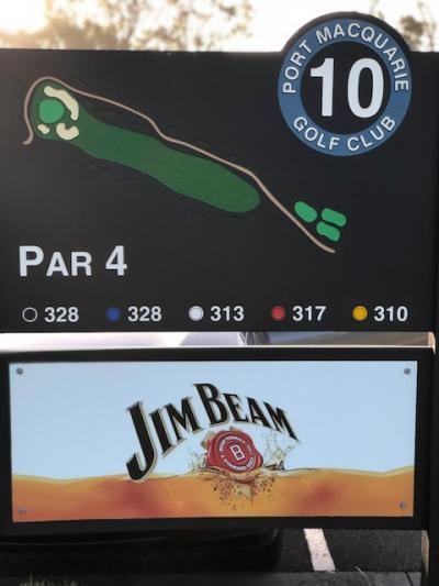 10th Tee Jim Beam