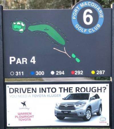 6th Tee Warren Plowright Toyota